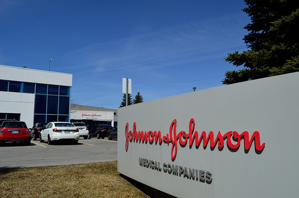 Johnson & Johnson's medical device sales set the Q2 pace